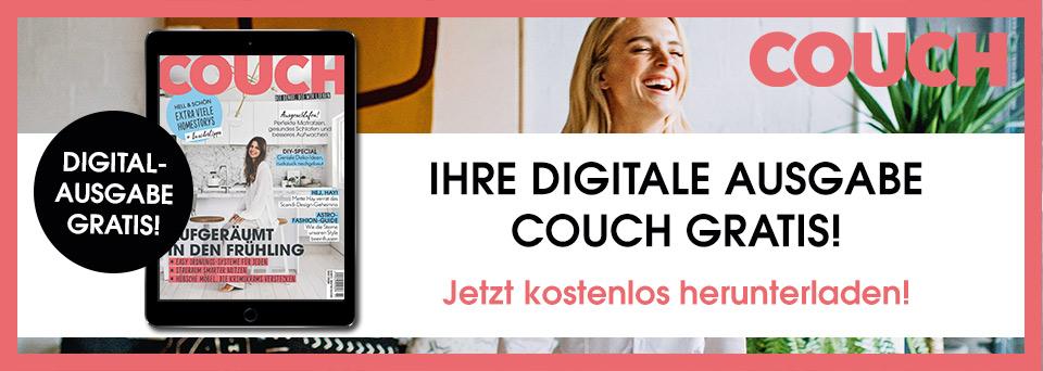 Jetzt Ihre digitale Ausgabe von COUCH lesen